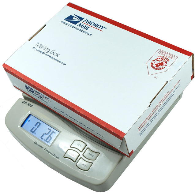 55 LB x 0.05 OZ Digital Postal Scale Shipping Scale -SF-550 - Anyvolume.com