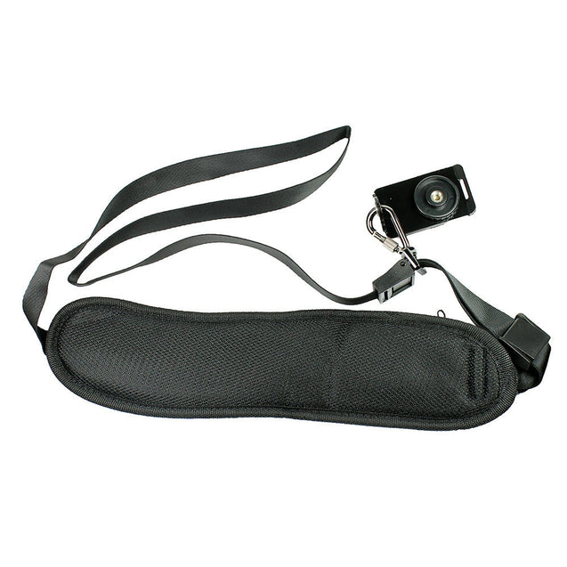Shoulder Sling Strap Belt for DSLR Digital SLR Camera with Pocket - Black - Anyvolume.com