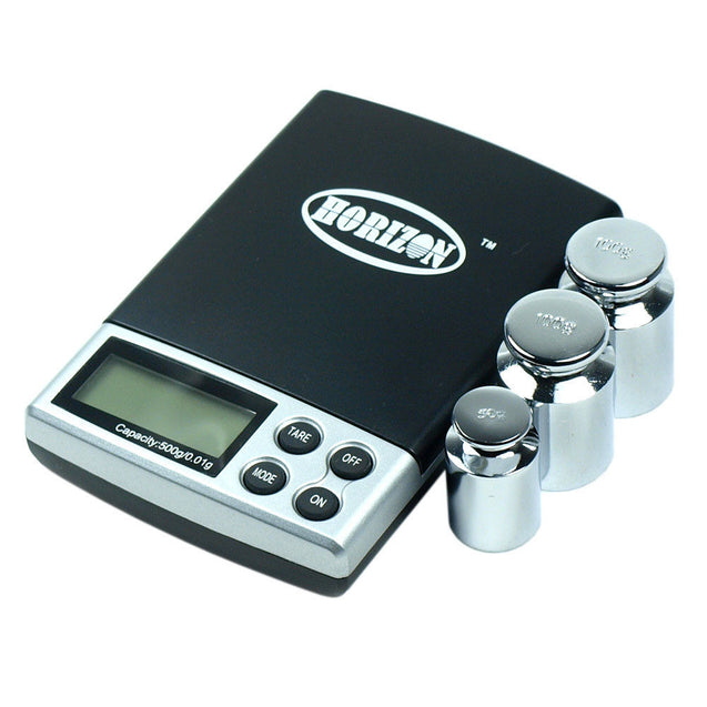 DS-19 500 x 0.01g Digital Pocket Jewelry Scale with Calibration Weights