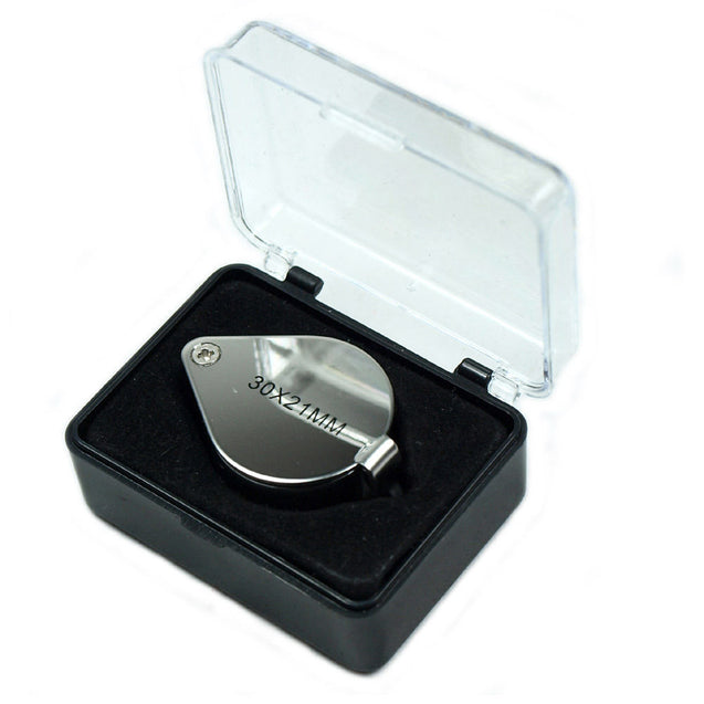 Wholesale Five (5) 30X Jeweler Loupes 30 x 21mm Magnifier with storage case - Anyvolume.com