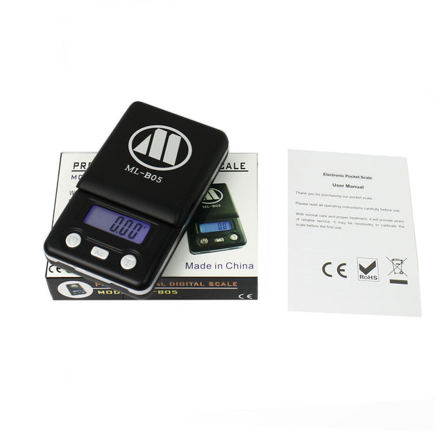 100g x 0.01g Digital Pocket Scale Portable Jewelry Coins Scale - Anyvolume.com