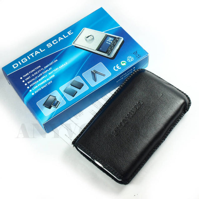 Digital Pocket Scale DS-16 0.01g x 100g with 100g 10g Standard Weights - Anyvolume.com