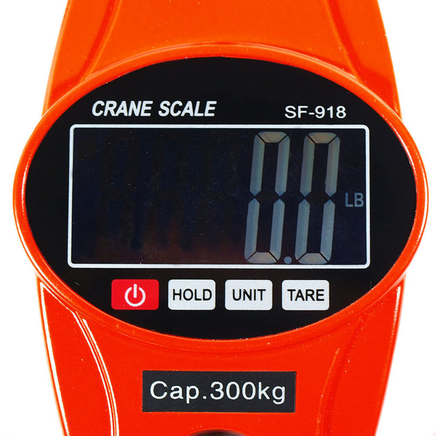 300 KG / 600 LBS Digital Hanging Scale SF918 Industrial Crane Scale - Red - Anyvolume.com