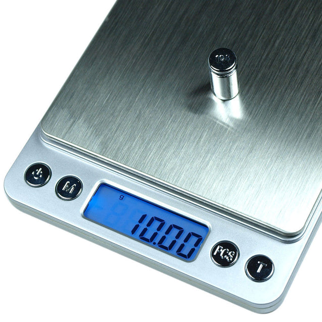 Clearance: 500g x 0.01g Digital Precision Scale ACCT-500 Scale with Trays - Anyvolume.com