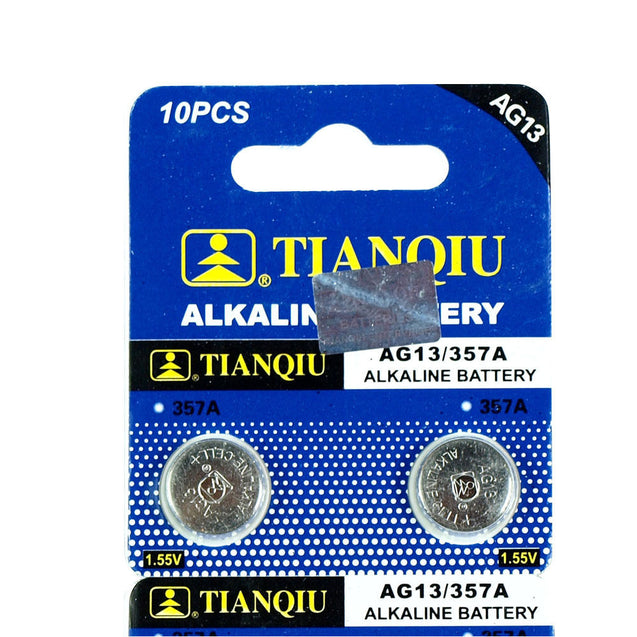 20 PCS  LR44 AG13 357 LR1154 Alkaline Battery 1.55V Button Cell for Watch Remote - Anyvolume.com