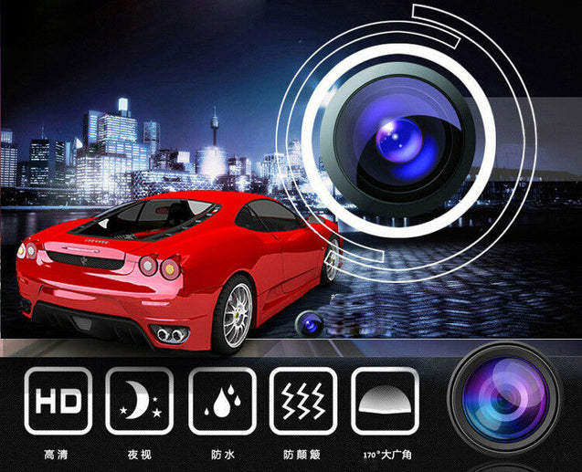 Waterproof 7led Car Backup Rear View Reverse Parking HD Camera Night Vision