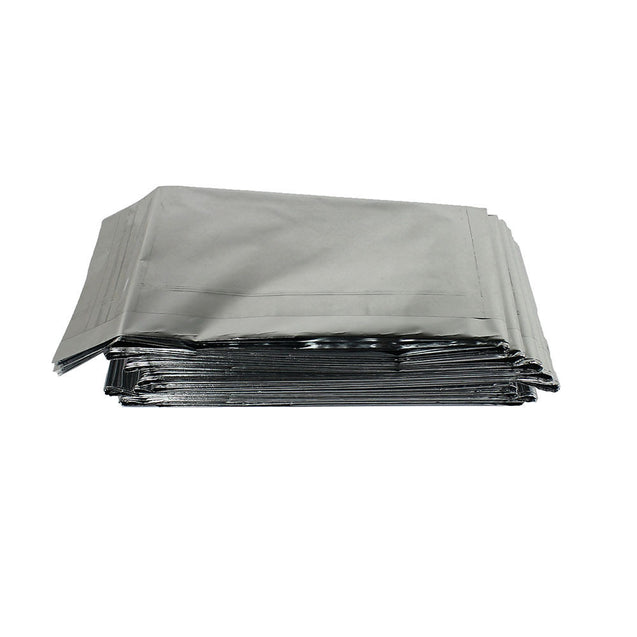 "8 Pack Emergency Solar Blanket 83""x63"" Mylar Insulating Thermal Heat Packets XL - Anyvolume.com"