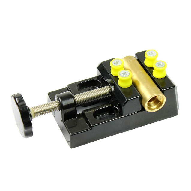 Mountable Miniature Bench Table Vise Non Scratching for Watches Jewelry Tool - Anyvolume.com