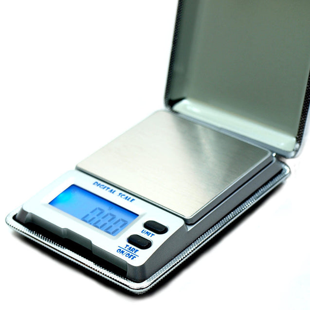 DS-18 500g x 0.01g Digital Pocket Precision Scale with Calibration Weights - Anyvolume.com