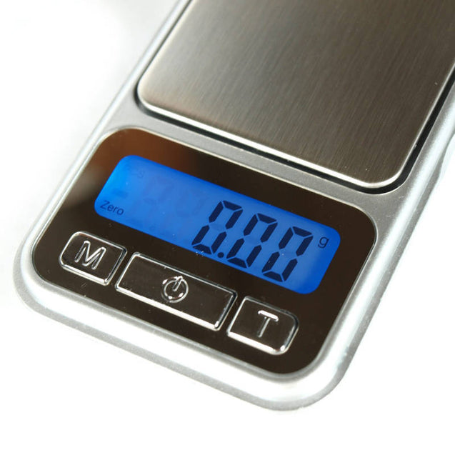 200g x 0.01g Precision Digital Pocket Scale with Calibration Weights - Anyvolume.com