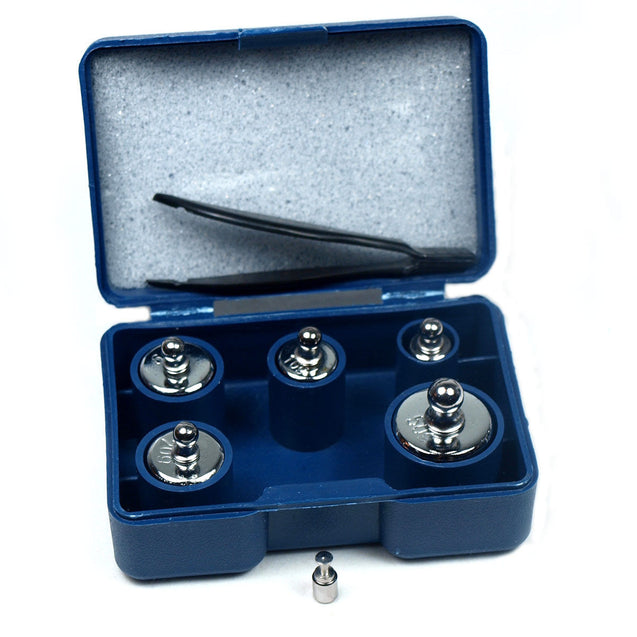 5 pcs calibration weight set 5g 10g 20g 50g with free 1g weight - Anyvolume.com