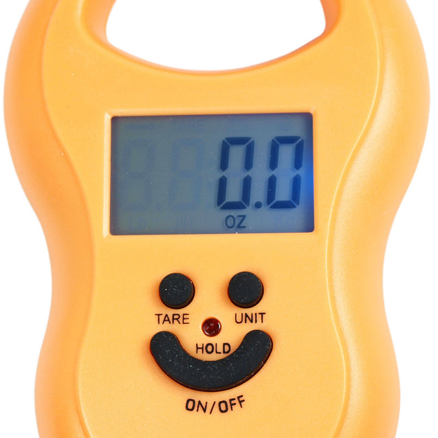 50Kg / 5g-10g Portable Digital Hanging / Fishing Scale with Lighted LCD Display - Anyvolume.com
