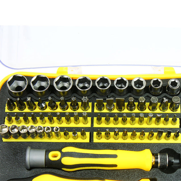 70 in 1 Screwdriver Sleeve Tool Set Multifunction Disassemble Mobile Computer - Anyvolume.com