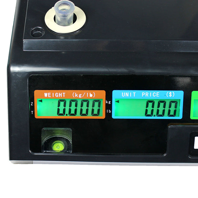 80 LB Digital Deli Scale Price Computing Food Produce Electrionic Weight Counter - Anyvolume.com