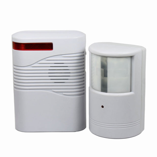 Garage Front Door Driveway Motion Sensor Alarm Infrared Wireless Alert System - Anyvolume.com
