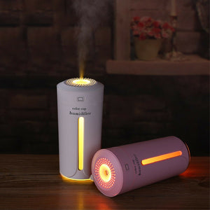 Portable USB Mini Ultrasonic LED Humidifier Air Diffuser Mist Purifier
