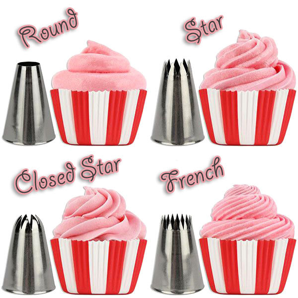52 Pcs Icing Piping Tips Set Cake Frosting Decorating Nozzles Sugarcraft Pastry - Anyvolume.com