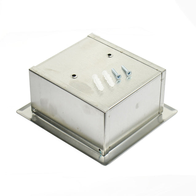Embed Wall Mounted Bathroom Toilet Paper Holder Roll Tissue Box Stainless Steel - Anyvolume.com