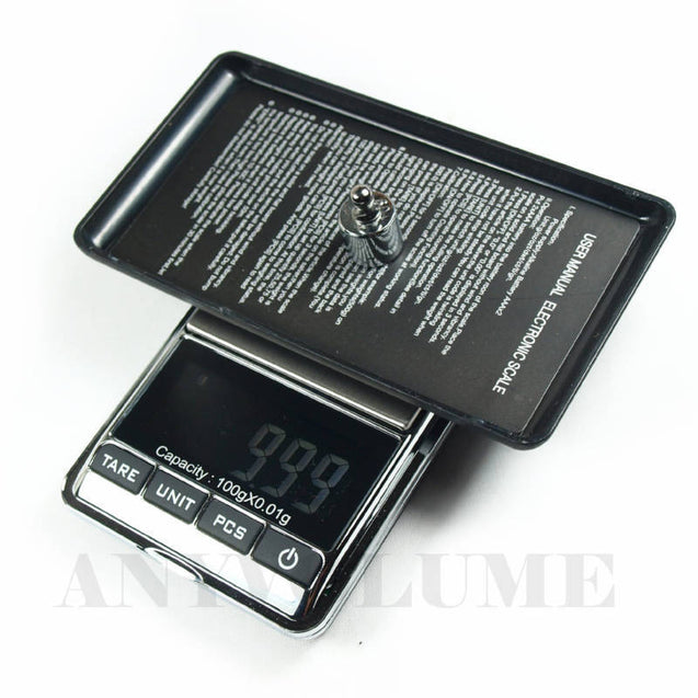 Digital Pocket Scale DS-16 0.01g x 100g with 100g 10g Standard Weights