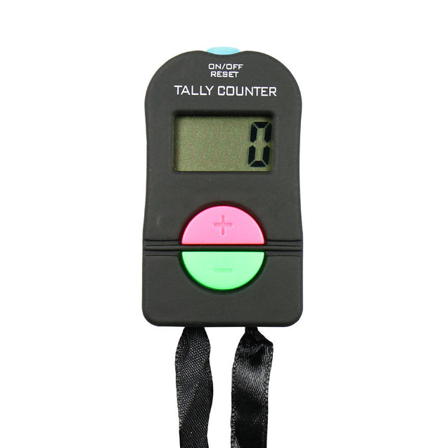 Tally Counter Electronic Counts Up or Down with Strap Golf Gym Security running - Anyvolume.com
