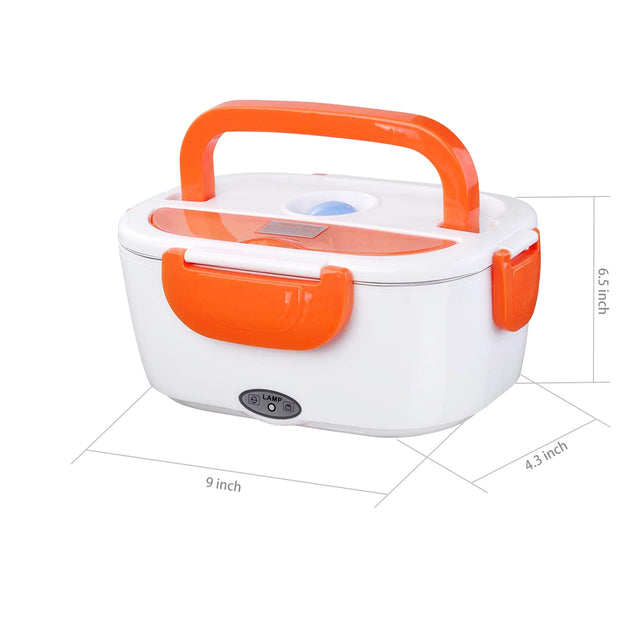 1.5L Electric Portable Lunch Box Food Storage Container Heater 40W 110V USB Charger