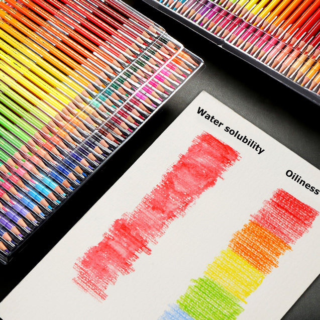 120 PCS Oil Based Classic Color Pencils Drawing Set Artist Painting Gift