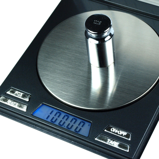 100g x 0.01g Digital Precision Scale CD Case Scale with Calibration Weights - Anyvolume.com