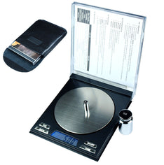 100g x 0.01g Digital Precision Scale CD Case Scale with Calibration Weights