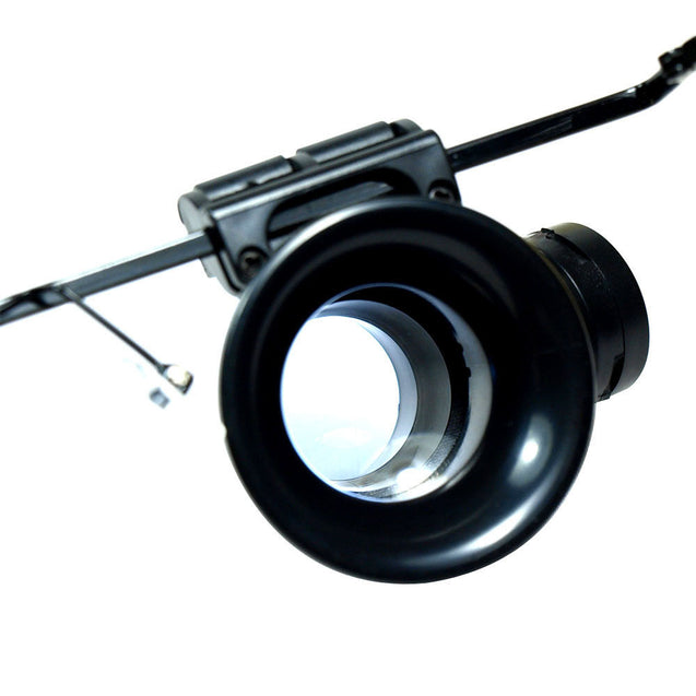 Lighted 20X Magnifier Magnifying Eye Glass Jeweler Loupe for Watch Repair - Anyvolume.com