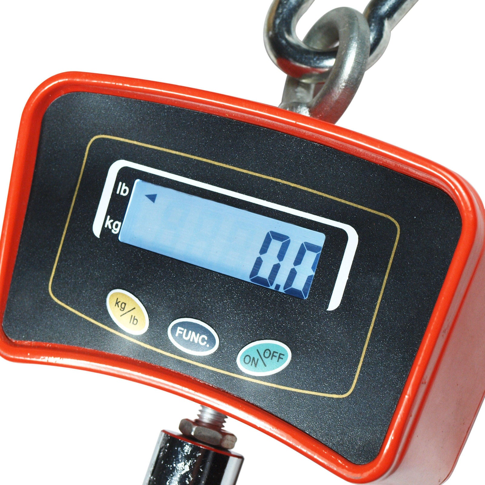 3d76535989fb 500 KG / 1100 LBS Digital Crane Scale Heavy Duty Industrial Hanging ...
