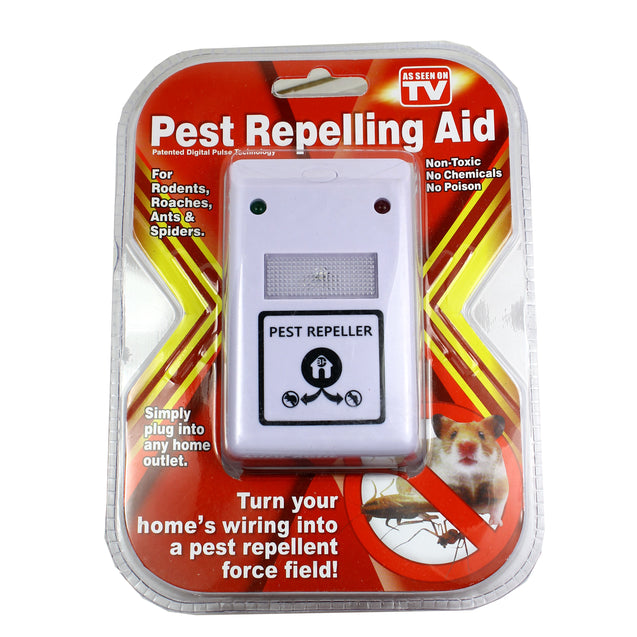 3 Pest Repellent for Rodents, Roaches, Ants, Spiders. As Seen on TV