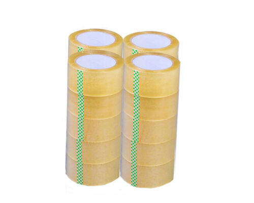 "20 Rolls Clear Sealing Tape Packing Package Box 35mm 1.65"" x 218 Yards 656 ft"
