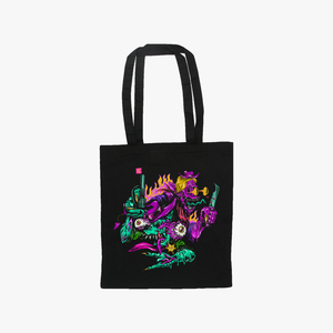 TMG Black Tote Bag