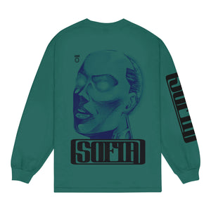 Sofia Teal Long Sleeve