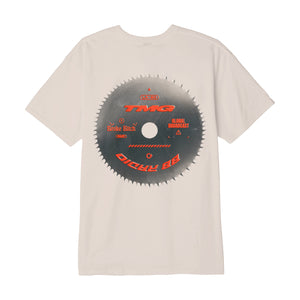 BB Radio Saw Blade Tan Tee