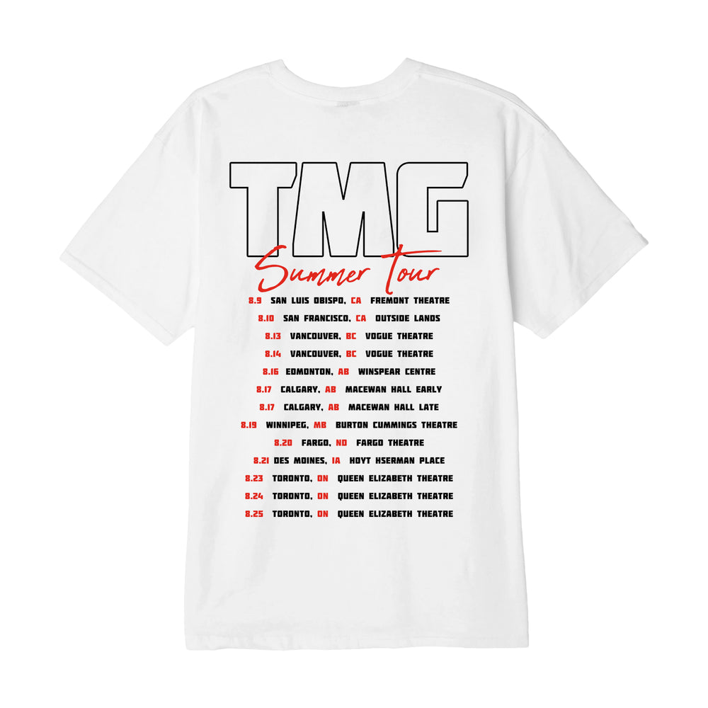 Summer Tour White Tee