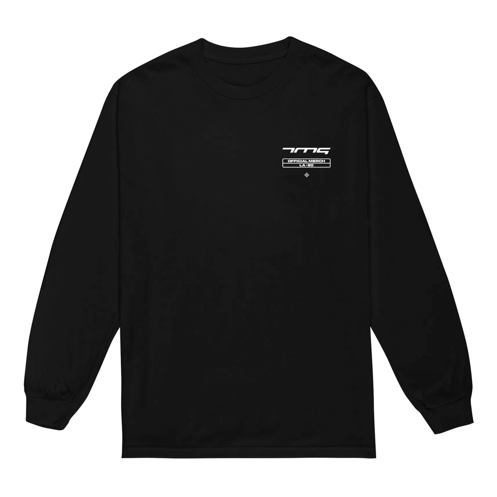 Diamond Pistols Black Long Sleeve