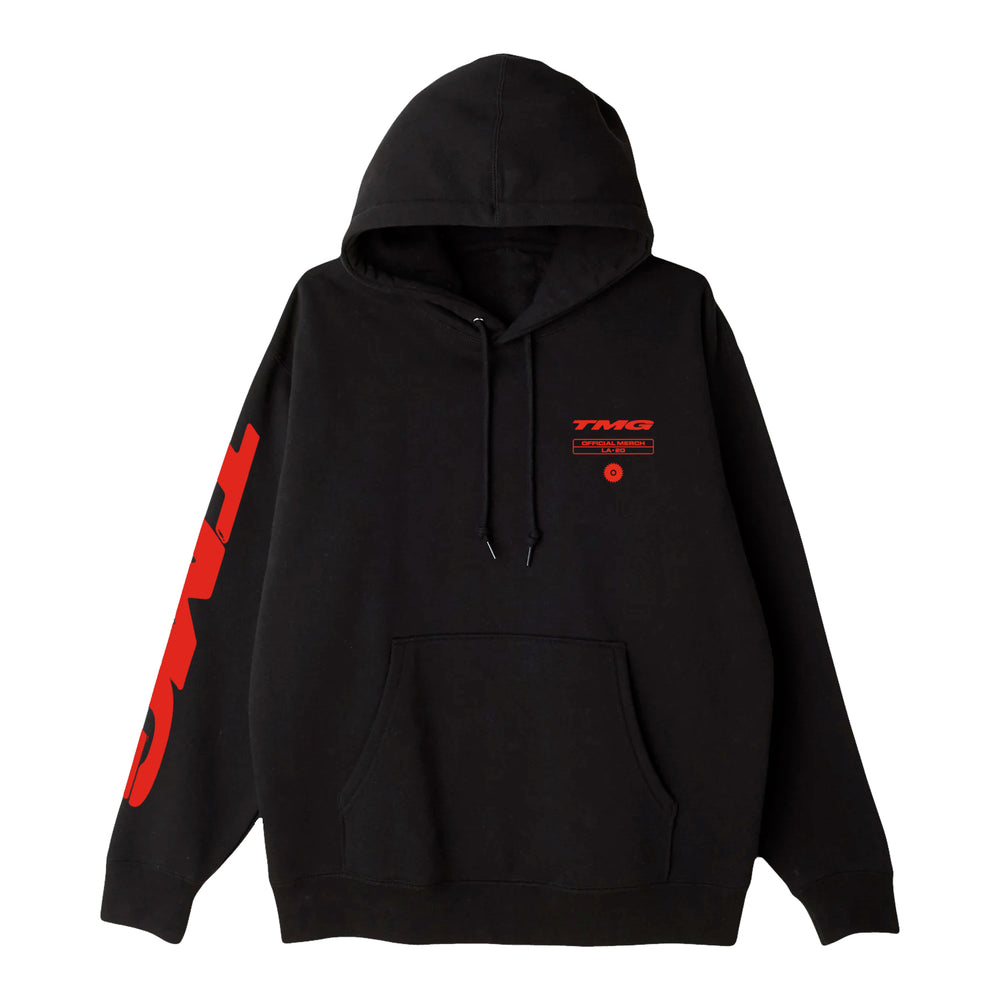 BB Radio Saw Blade Black Hoodie