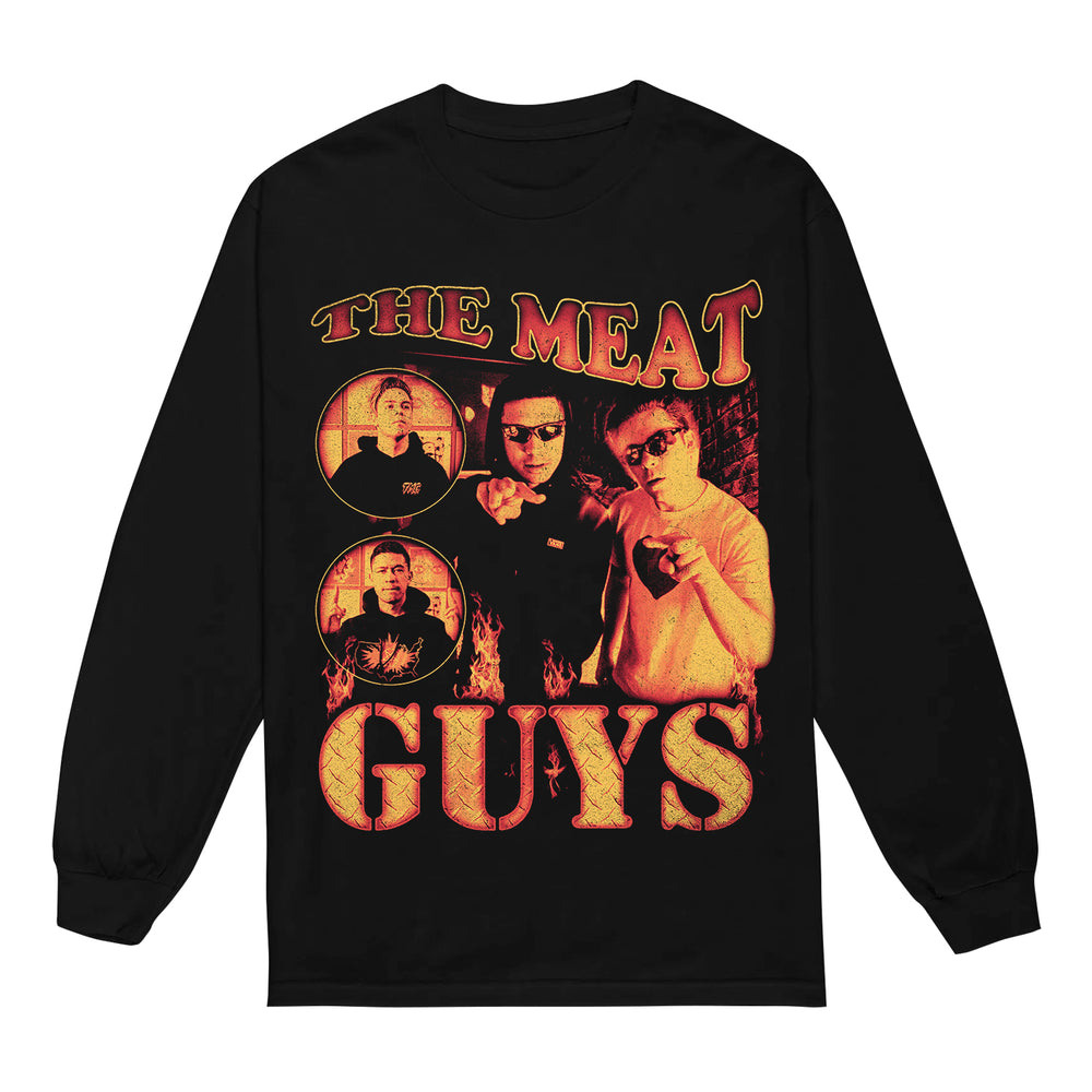 The Meat Guys Black Long Sleeve