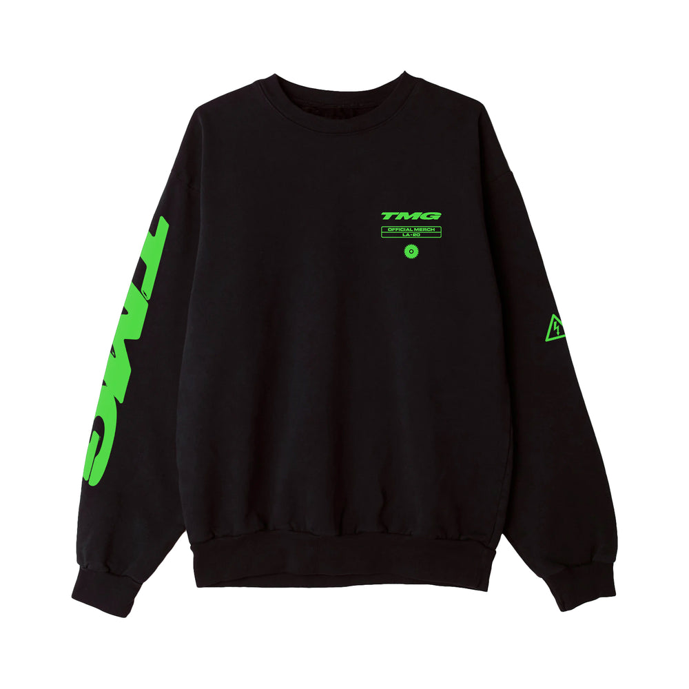 Broke Bitch Black Crewneck