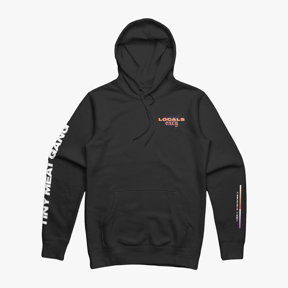Locals Only Black Hoodie