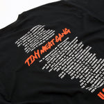 Tiny Meat Gang Black Tour Tee