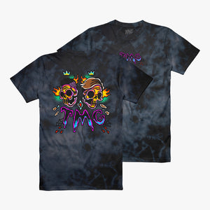 Traditional Skull Custom Dye Tee