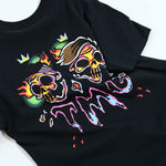 Traditional Skull Black Tee