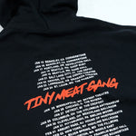 Tiny Meat Gang Black Cropped Hoodie