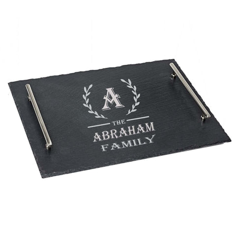 ABRAHAM Surname Gift Personalised with Any Name