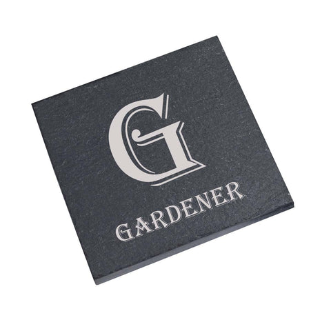 GARDENER Personalised Gift Personalised with Any Name
