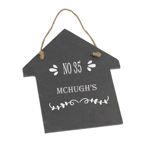 Mc-Hugh House Gift Personalised with Any Name