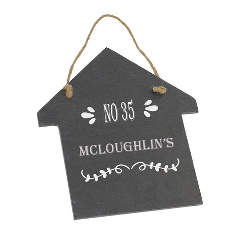 Mc-Loughlin House Gift Personalised with Any Name