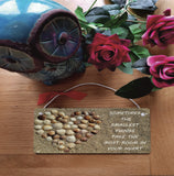 Gift Hanging Wall Door Sign Plaque Decoration smallest things take the most room in your heart GP17